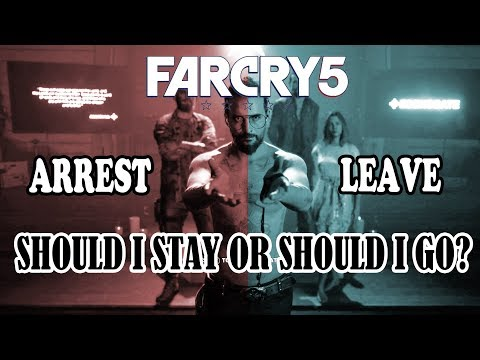 Far Cry 5 Secret Ending in 10 minutes - Arrest or Leave Joseph Seed