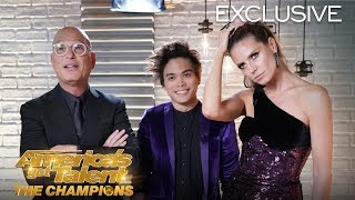 Shin Lim Talks About His WINNING MOMENT On AGT: The Champions - America's Got Talent: The Champions