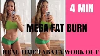 Best Fat Burning Workout For Women - Real Time Tabata