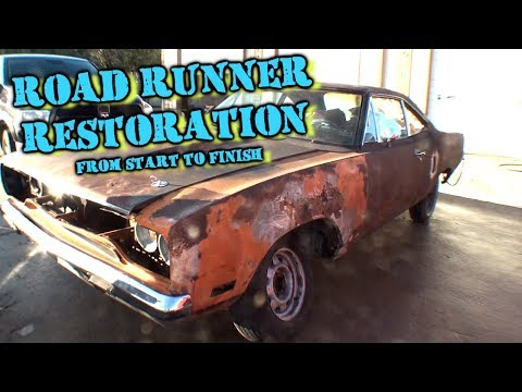 """Barn Find""  Plymouth Road Runner - Complete Restoration - BIG FAIL"