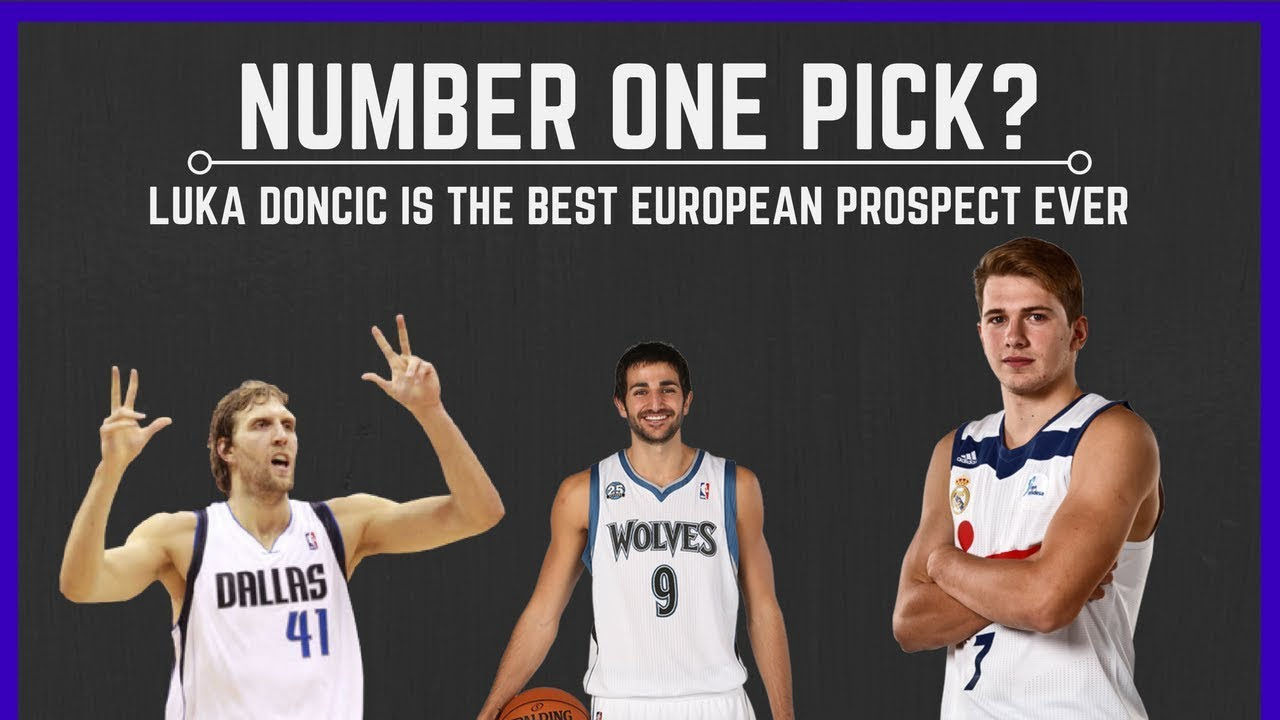 Luka Doncic The Best European Prospect Ever 2018 Draft Number One Pick Youtube