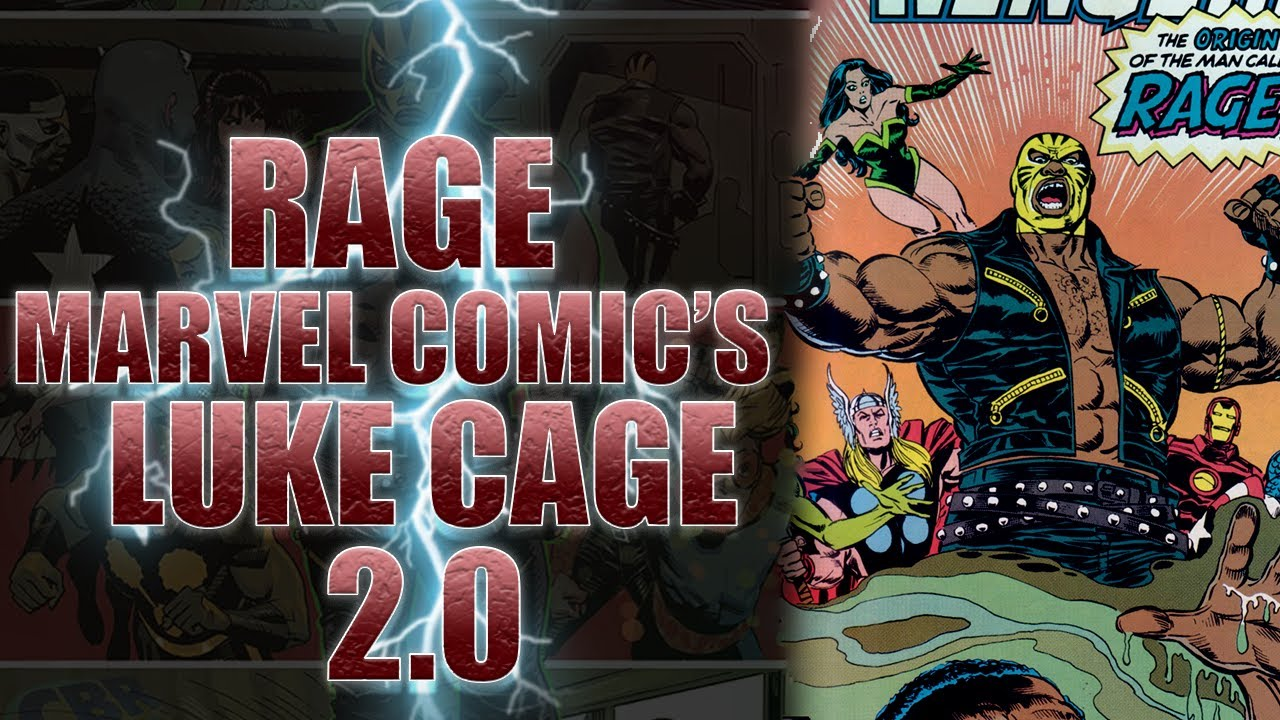 Who Is The Hero Rage? Luke Cage 2.0?!