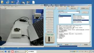 RT809H-S29gl512p chip Writing Demo