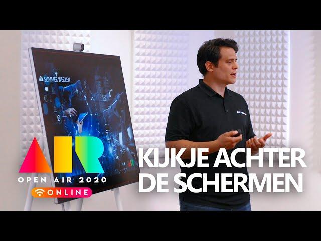 OPEN AIR 2020:  Een kijkje achter de schermen