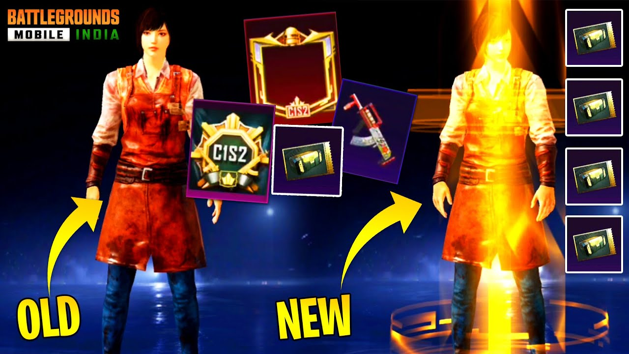 Download NEW MYTHIC ENTRY TIER EFFECT IN BGMI AND 4 PREMIUM CRATE   C1S2 TIER REWARDS AND M3 ROYAL PASS