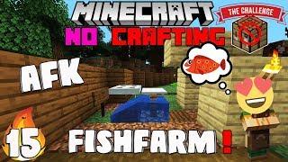 "Minecraft : No CraftingTable Ep15 ""AFK Fishing Farm"" wt Akan22 ""Minecraft Hindi"" 1.15.1"