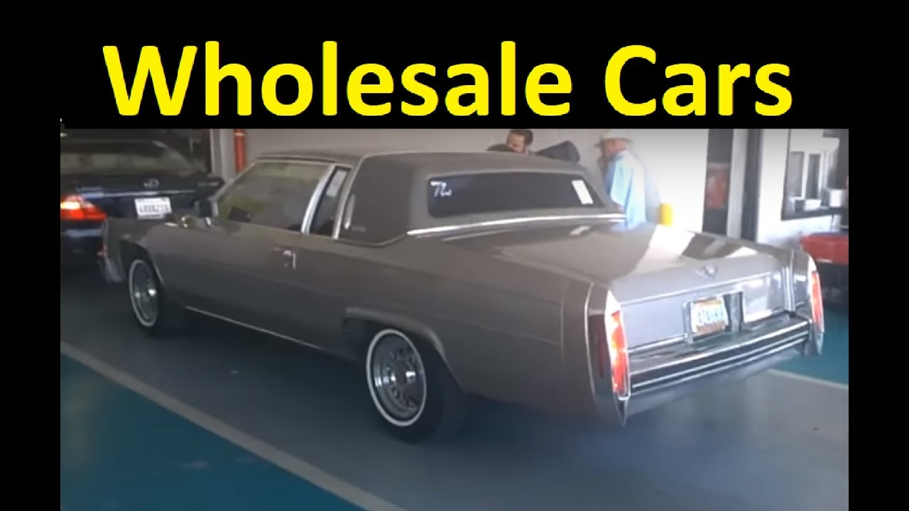 AUTO DEALER CAR AUCTION ~ BUYING WHOLESALE USED CARS VIDEO - YouTube
