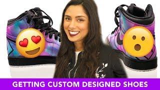 I Got A Pair Of Custom Nike Retro Jordans 👟