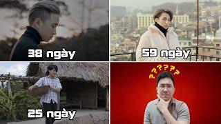 TOP 10 MV VPOP ĐẠT MỐC 100 TRIỆU VIEW NHANH NHẤT MỌI THỜI ĐẠI (Top 1 Là Trùm Của Trùm)
