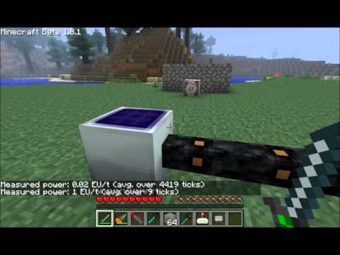 IndustrialCraft 2.0 Tutorials - Solar Panels