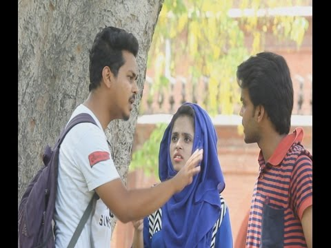 Funny Pranks-BADMASH LADKI-(Prank in Aligarh)