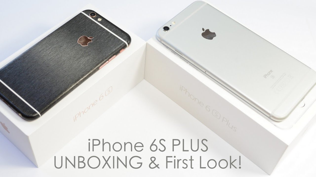 iPhone 6S PLUS 64GB Silver UNBOXING & First look! by EasySkinz