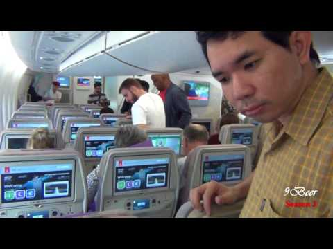 Review Emirates Narita to Barcelona via Dubai part 2