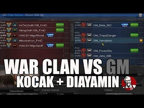 NANTANGIN GM WAR CLAN + DIAYAMIN - POINT BLANK GARENA INDONESIA