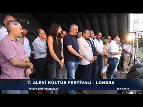 TV10 Avrupadan Yansiyanlar 7. Alevi Kultur Festivali Londra