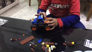 Lego City Monster Truck Construction