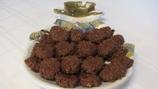 No Bake Chocolate Oatmeal Cookies -- Lynn's Recipes