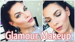 ♡ GLITTER GLAMOUR MAKE-UP Look + KYLIE LIP KIT Candy K ♡