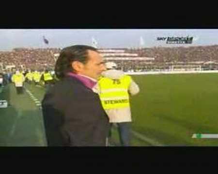 Minuto di silenzio prima di Fiorentina - Inter 2007
