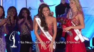 Crowning Moment Miss New Jersey USA 2015