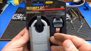 how to crack a combination lock