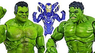 Good Hulk appeared! Professor Hulk and Iron Rescue! | DuDuPopTOY