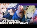 Top 5 turn-based mobile strategy games