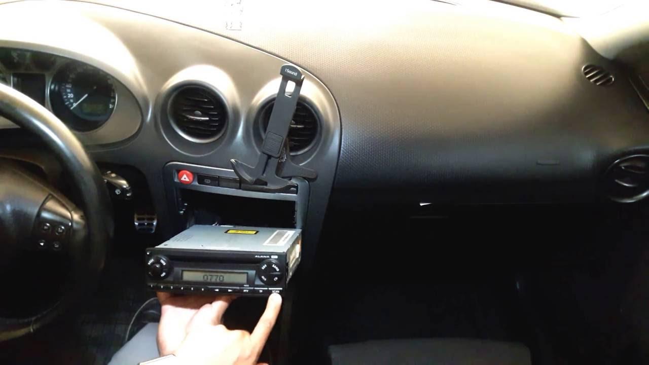 desbloqueo del radio alana en seat ibiza y cordoba
