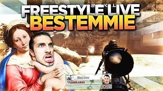 'BESTEMMIE.' - MW2 FFA IN FREESTYLE LIVE CON TRICKSHOT #8!