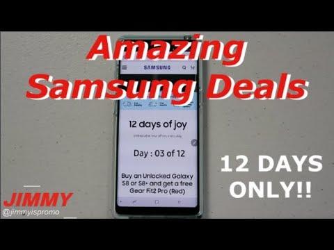 Samsung's 12 Days of Christmas - UNBEATABLE DAILY DEALS