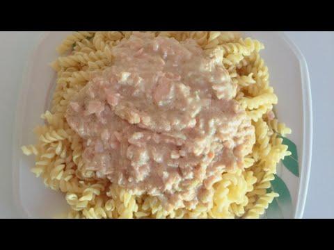 salmon-pasta-recipe- -recette-pâte-au-saumon