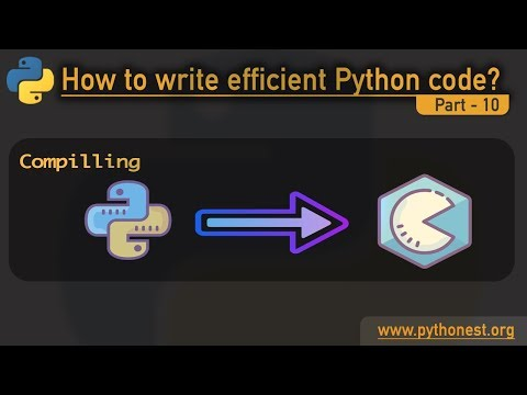 Compile Python to C | cython, pypy and numba | python tutorials - learn python thumbnail