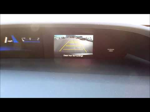 2013 Honda Civic Back up Camera
