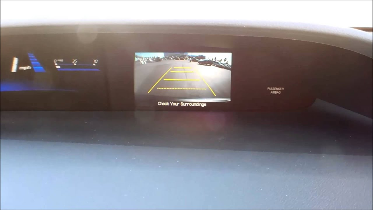 2013 honda civic back up camera youtube. Black Bedroom Furniture Sets. Home Design Ideas