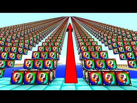 Download Minecraft Extreme Spiral Lucky Block Staircase Lucky Block