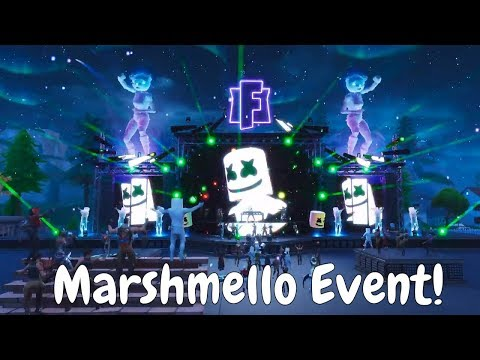 The CRAZY Marshmello Event !!! The Full Fortnite EVENT! [Replay Mode] #KeepItMello :)