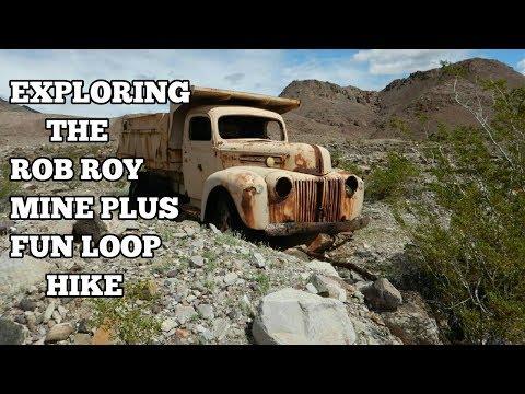 Exploring The Rob Roy Mine Plus A Fun Loop Hike