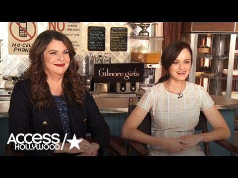 † Gilmore Girls † : Lauren Graham & Alexis Bledel On Where We Pick Up With Lorelai & Rory