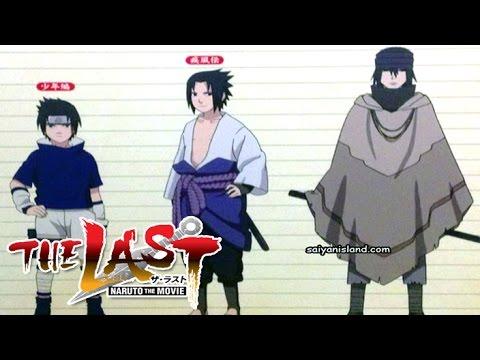 Naruto Naruto Shippuden Naruto The Last Characters Evolution