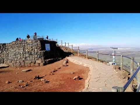 A detailed explanation from the Israeli observation point (the Golan Heights) on Syria