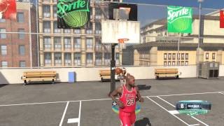 NBA 2k14: Next Gen - Lebron James vs Michael Jordan 1 on 1 Blacktop | PS4