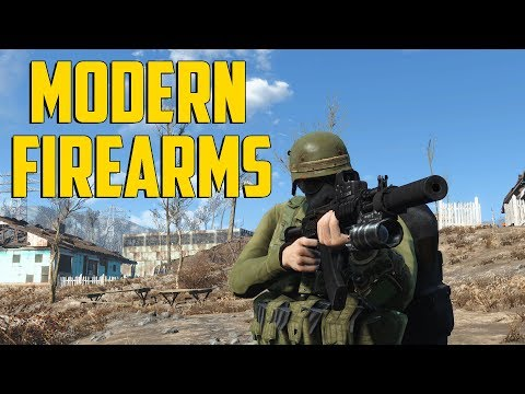Fallout 4 - Modern Firearms Mod