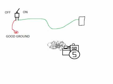 How To Wire A Kill Switch On A Small Engine YouTube – John Deere Light Switch Wiring Diagram