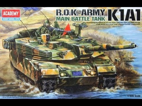 Kit Review: Academy R.O.K. Army K1A1