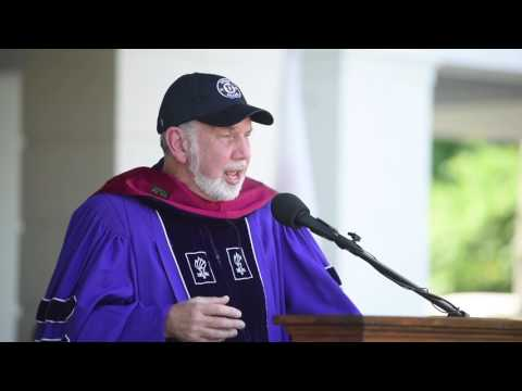 Union College Commencement Speaker John Sexton