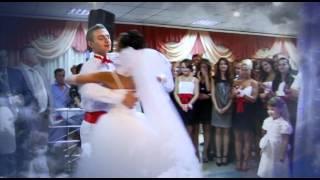 Самый красивый  свадебный танец  Настя и Вова  12.09.2010