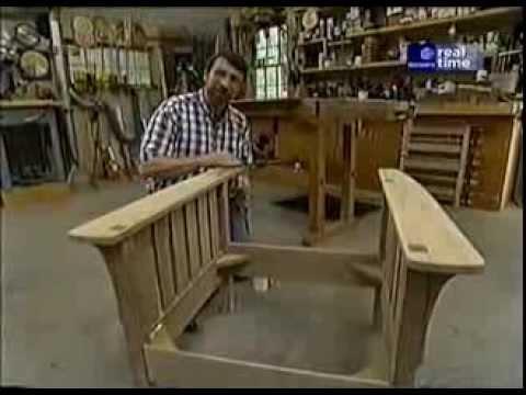 Cмотреть видео Кресло Морриса своими руками (Morris Chair)