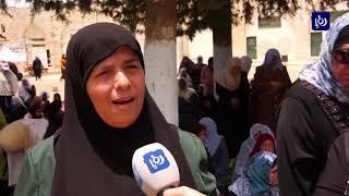 أكثر من 100 ألف مصل في المسجد الأقصى في الجمعة الثالثة لشهر رمضان  (24-5-2019)