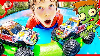 New Axel Show Monster Truck Pretend Play Youtube