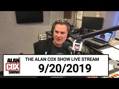 The Alan Cox Show - The Alan Cox Show Live Stream (9/20/2019)